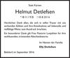 Helmut Detlefsen