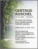 GERTRUD KUSCHEL