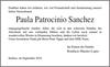 Paula Patrocinio Sanchez