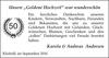 Karola Andreas Andresen Goldene wunderschön