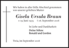Gisela Ursula Braun