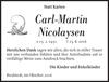 Carl-Martin Nicolaysen