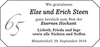 Else und Erich Steen