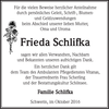 Frieda Schlifka