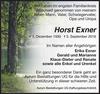 Horst Exner