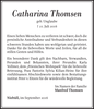 Catharina Thomsen