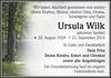 Ursula Wilk