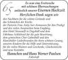 Eisernen Hannchen und Hans Werner Paulsen