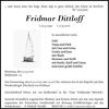 Fridmar Dittloff