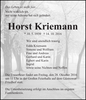 Horst Kriemann