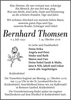 Bernhard Thomsen