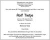 Rolf Tietje