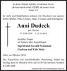 Anni Dudeck