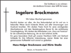 Ingelore Brockmann