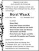 Horst Waack