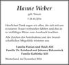 Hanne Weber