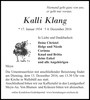 Kalli Klang