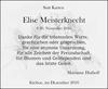 Elise Meisterknecht