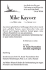 Mike Kaysser