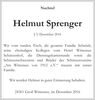 Helmut Sprenger