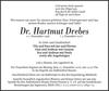 Dr. Hartmut Drebes