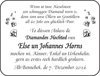 Else Un Johannes Horns