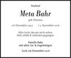 Meta Bahr