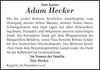 Adam Hecker