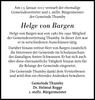 Helge Von Bargen