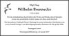 Wilhelm Brennecke