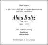 Alma Baltz