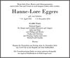 Hanne-Lore Eggers