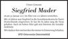 Siegfried Mader