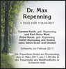 Dr. Max Repenning