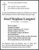 Josef Stephan Langner