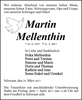 Martin Mellenthin