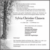 Sylvia Christine Clausen
