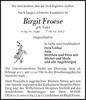 Birgit Froese