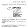 Gert Schwarze