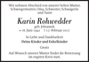 Karin Rohwedder