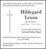 Hildegard Lexau