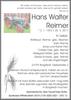 Hans Walter Reimer
