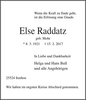 Else Raddatz