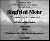 Siegfried Mohr