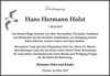 Hans Hermann Holst