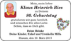 Klaus Heinrich Bies