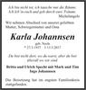 Karla Johannsen