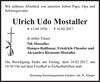 Ulrich Udo Mostaller