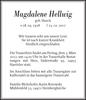 Magdalene Hellwig