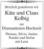 Käte und Claus Kolbig